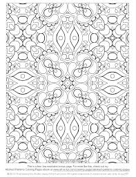 Coloring Pages Free Adult Detailed