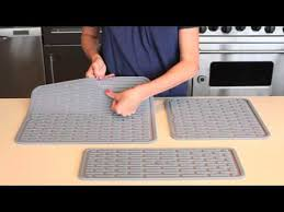 oxo good grips wine glass silicone drying mat 1372100 youtube