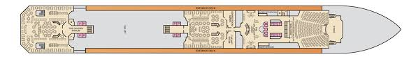 Carnival Splendor Deck Plans by Just Cruise Cruise Ship