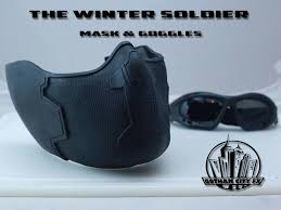 Captain America Bucky Barnes Winter Soldier Mask