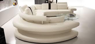 canapé d angle panoramique toulouse en cuir italien design pas cher