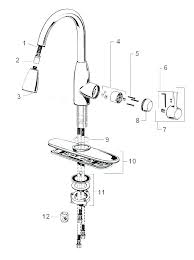Moen Kitchen Faucet Repair Diagram Moen Single Handle Faucet Repair Kit Laptrinhx News