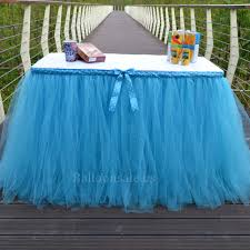 cheap white tulle table skirt fabric table skirts for sale on