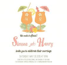 Wedding Reception Invitation Wording After Private Ceremony And Masterly For Only Invitations