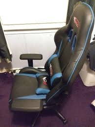 GT Omega Pro Gaming/office Chair New With Box | In Clarkston, Glasgow |  Gumtree Costco Gaming Chair X Rocker Pro Bluetooth Cheap Find Deals On Line Off Duty Gamers Maxnomic Dominator Gamingoffice Gaming Chair Star Trek Edition Classic Office Review Best Chairs Ever Maxnomic By Needforseat Brazen Shadow Pc Chairs Amazoncom Pro Breathable Ergonomic Rog Master Akracing Masters Series Luxury Xl Blue Esport L33tgamingcom Vertagear Pline Pl6000 Racing