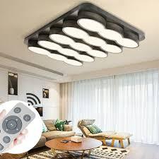 beleuchtung futuristische led deckenbeleuchtung eckig für