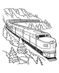 Train Coloring Pages For Free Download Procoloring