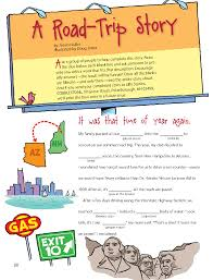 Halloween Mad Libs For 5th Graders by Notes From The Backseat Cricket Media