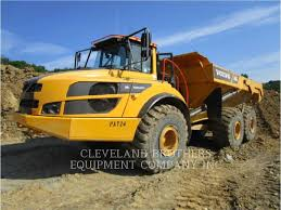 100 Articulating Dump Truck Volvo A40G Articulated S ADTs Construction