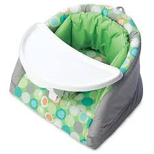 boppy baby chair in green marbles buybuy baby