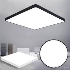 großhandel led deckenleuchte moderne le wohnzimmer leuchte schlafzimmer küche oberflächenmontage flush ultradünne led panel light schwarz weiß