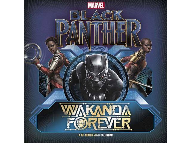 Mead Black Panther 2020 Wall Calendar