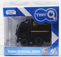 100 Ups Truck Toy TinyQ Isuzu NSeries 2006 Box Lorry UPS HiRes Image