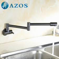Articulating Deck Mount Kitchen Faucet by Aliexpress Com Buy Single Handle Single Cold Folding Swing Pot