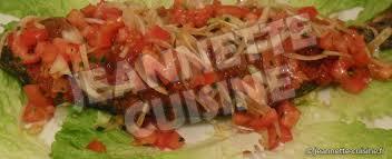 recette cuisine poisson poisson braisé au four ou au barbecue plat africain jeannette