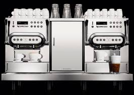 Combined Coffee Machine Automatic 2 Group For Offices