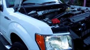 how to remove headlight and install h13 hid bulbs on a ford f150
