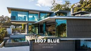 100 Modern Houses Los Angeles NEW MODERN HOUSE Blue Heights Dr 4K