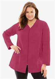 Chenille Bed Jacket by Plus Size Sleepwear Robes U0026 Slippers Jessica London