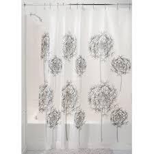 Small Bathroom Window Curtains Amazon by Amazon Com Interdesign Allium 72 Inch By 72 Inch Shower Curtain