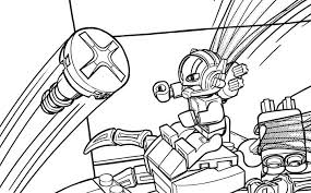 Lego Marvel Ant Man Coloring Pages Sketch Page