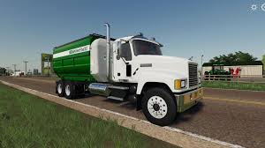 100 Feed Truck FS 19 Mack Pinnacle V10 Farming Simulator 2019