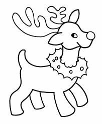 Christmas Coloring Sheets For Kindergarten