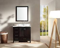 Single Sink Vanity With Makeup Table by Ariel Cambridge 37