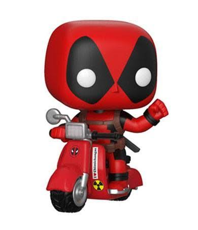 Funko Pop! Rides: Deadpool & Scooter