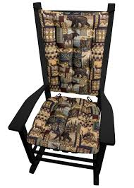 Woodland Cabin Rocking Chair Cushions - Latex Foam Fill - Rustic Lodge Cheap Wicker Rocking Chair Sale Find Brookport With Cushions Ideas For Paint Outdoor Wooden Chairs Hotelpicodaurze Designs Costway Porch Deck Rocker Patio Fniture W Cushion 48 Inch Bench Club Slatted Alinum All Weather Proof W Corvus Salerno Amazoncom Colmena Acacia Wood Rustic Style Parchment White At Home Best Choice Products Farmhouse Ding New Featured Polywood Official Store