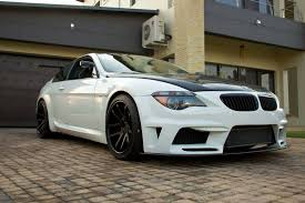 there s an insane bmw m6 with a 6 rotor engine up for sale in