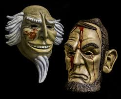 Purge Mask For Halloween by Lincoln And Uncle Sam Mask Set Purge Election Year Inspired