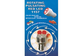 rotating pulsating1157 replacement led brake light bulb