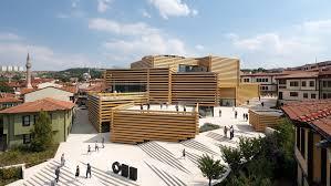 100 Modern Architecture Magazine Kengo Kumas Stackedtimber Odunpazari Museum Opens