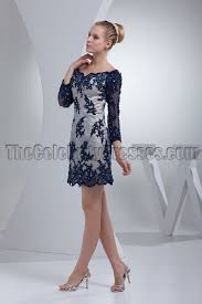 chic short mini lace long sleeve party cocktail dresses
