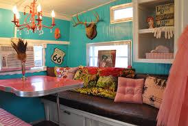 Camper Interior Decorating Ideas 14 Rv Decor Pictures Vintage Design
