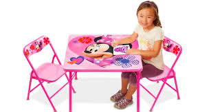 kohl s cardholders kids activity table and chairs set only 15