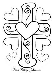 Bible Coloring Pages Brings Salvation
