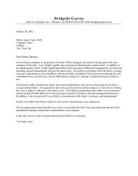 Medical Administration Officer Cover Letter Examples For Office Jobs Sample Free
