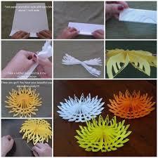 3D Paper Snowflake Step By Tutorial