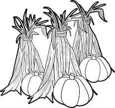 Pumpkin Patch Coloring Pages Printable by Pumpkin Patch Coloring Page Children Playing In A Pumpkin Field