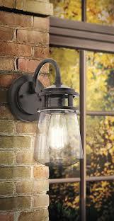 lyndon 1 light outdoor wall lantern architectural bronze