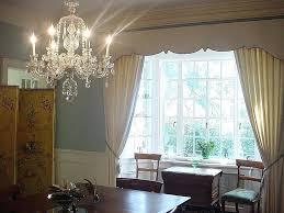 Window Curtain New Dining Room Bay Ideas Decorating
