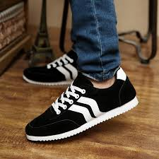 2017 Fashion Trend Men Shoes Breathable Outdoor Rubber Casual Solid Color Brand Male Zapatos Hombre WA31