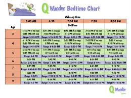 Figure Out When Your Child Should Go to Bed with This Printable