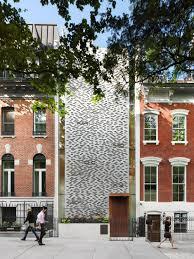 100 Townhouse Manhattan Narrow Parading Vertical Design