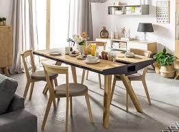 Vox Oak Dining Table With Built In Trivet