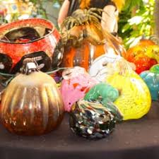 Blown Glass Pumpkins Boston by Phoenix Glass Studio 30 Photos Art Galleries 811 E Knollwood