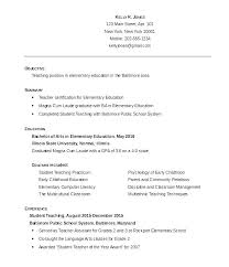 Teaching Resume Examples 2016 Together With Teachers Sample Of Teacher Resumes Lovely Format