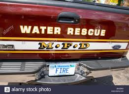 100 Fire Truck Plates Department Water Rescue Truck With Designer Fire License Plate